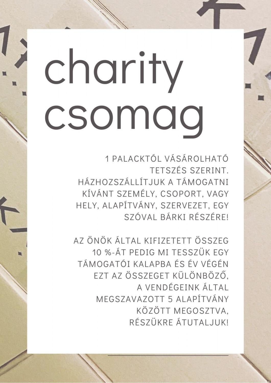 charity csomag 1 palack alap borral