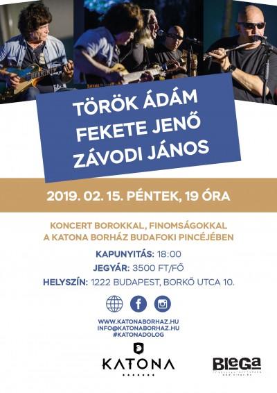 2019. február 15. péntek: Török Ádám - Fekete Jenő – Závodi János