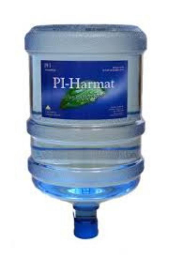 Ballonos PÍ harmat víz (19 liter)